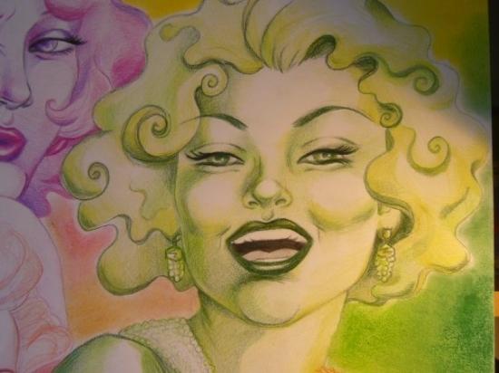 Marilyn Monroe by PsYkoGlaM